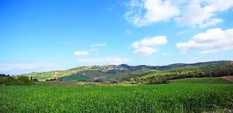 Beautiful Tuscany landscape in Italy . Beautiful landscapes of molar Tuscany in Italy Royalty Free Stock Photos