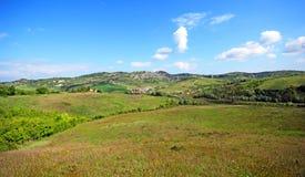 Beautiful Tuscany landscape in Italy . Beautiful landscapes of molar Tuscany in Italy Stock Photos