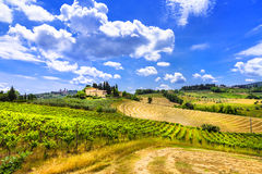 Beautiful Tuscany landscapes. Italy Royalty Free Stock Photography