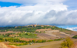 Beautiful Tuscany View Royalty Free Stock Images