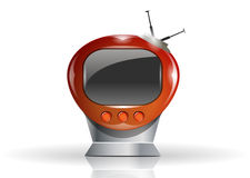 Beautiful TV illustration Royalty Free Stock Images