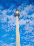 Beautiful TV Tower in Berlin Royalty Free Stock Photo