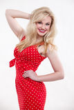 Beautiful twenties caucasian blonde woman Royalty Free Stock Image