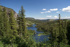 Beautiful Twin Lakes Mammoth Lakes, California Royalty Free Stock Images