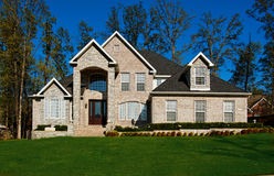 Beautiful Two-story Home Royalty Free Stock Photos