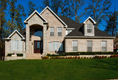 Beautiful Two-story Home Royalty Free Stock Images