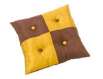 Beautiful cushion pillow isolated  Stock Photos