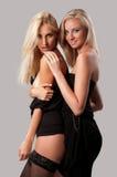 Beautiful two woman Stock Photo