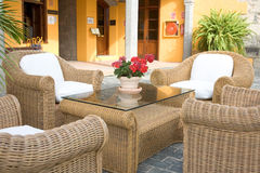 Beautiful typical patio Royalty Free Stock Image
