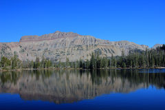 Beautiful Uinta mountain landscape. Royalty Free Stock Photography