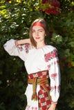 Beautiful Ukrainian girl stock photos