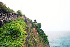 Beautiful Uluwatu temple at hill top, Bali Stock Photography
