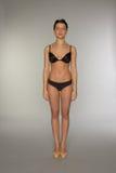 Beautiful underwear model posing Royalty Free Stock Image