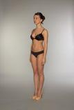 Beautiful underwear model posing Royalty Free Stock Images