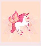 Beautiful  Unicorn. Stock Photos