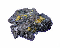 Beautiful, unique crystal of sphalerite. With contrast color Royalty Free Stock Photos