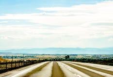Beautiful unique sky in Denver, Colorado Stock Photography