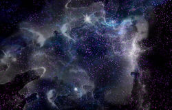 The Beautiful Universe. Background image with outer space. Elements of this images are provided by NASA Stock Photos