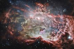Beautiful of universe. Elements of this image furnished by NASA royalty free stock image