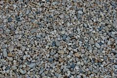 Beautiful unusual background of small stones stock images