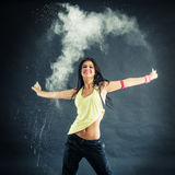 Beautiful urban dancer Stock Image