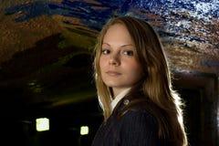 Beautiful urban girl Royalty Free Stock Image