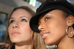 Beautiful Urban Women royalty free stock images