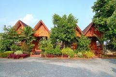 Beautiful vacation house. Happy journey Royalty Free Stock Photos
