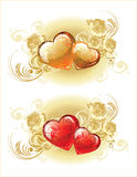 Beautiful Valentine background Stock Photo