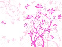 Beautiful valentine card Stock Images