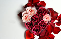 Beautiful Valentine composition Royalty Free Stock Images