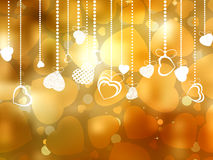 Beautiful valentine day card with copyspace. EPS 8 Stock Photos