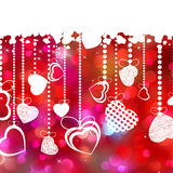 Beautiful Valentine Day Card With Copyspace. EPS 8 Stock Images
