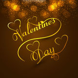 Beautiful valentines day card colorful background Royalty Free Stock Images
