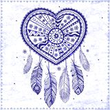 Beautiful Valentine's day heart stock illustration