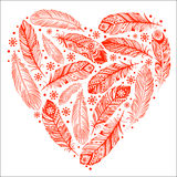 Beautiful Valentine's day heart Royalty Free Stock Images