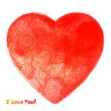 Beautiful Valentine's day heart Stock Image