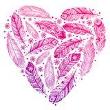 Beautiful Valentine's day heart Royalty Free Stock Photos