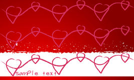 Beautiful Valentine's Day illustration Stock Photo