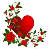Beautiful Valentine's Day illustration Royalty Free Stock Image