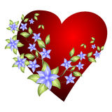 Beautiful Valentine's Day illustration Royalty Free Stock Photo