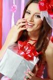 Beautiful Valentine woman Stock Photo