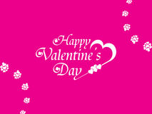Beautiful Valentines Day background. Royalty Free Stock Photo