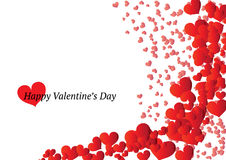 Beautiful Valentines Day card Royalty Free Stock Photography