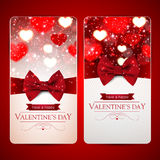 Beautiful Valentines day card Stock Images