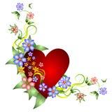 Beautiful Valentines Day illustration Stock Photos