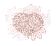 Beautiful Valentines day illustration. Royalty Free Stock Photos