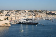 Beautiful Valetta, Malta Royalty Free Stock Photos