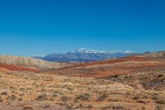 Beautiful Valley of Fire Landscape Stock Images