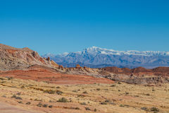 Beautiful Valley of Fire Nevada Royalty Free Stock Photos